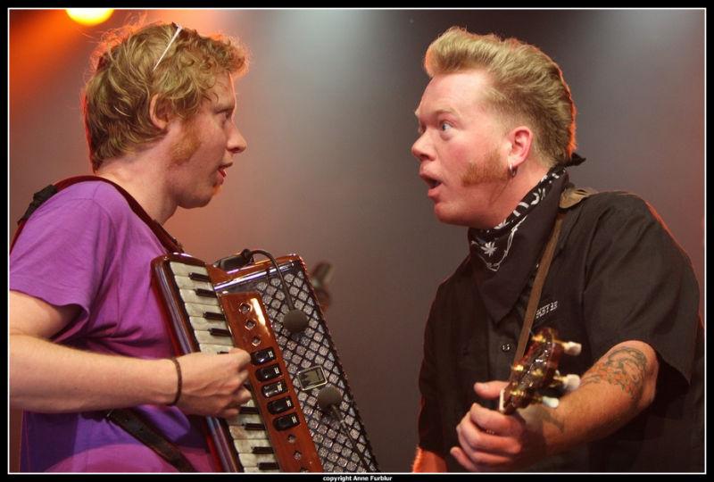Jamie Clark's Perfect, Concert Euro 2008