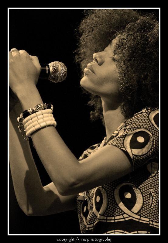 Nneka, Paléo Festival Nyon 2008 , Switzerland