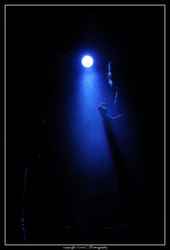Lumière, guitare, scène, musique