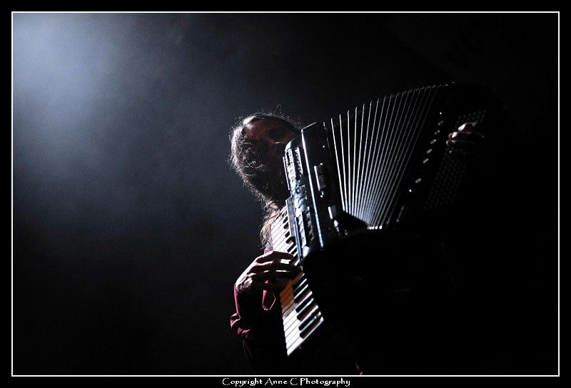 Mad Manouch, Venoge Festival, live, accordéon