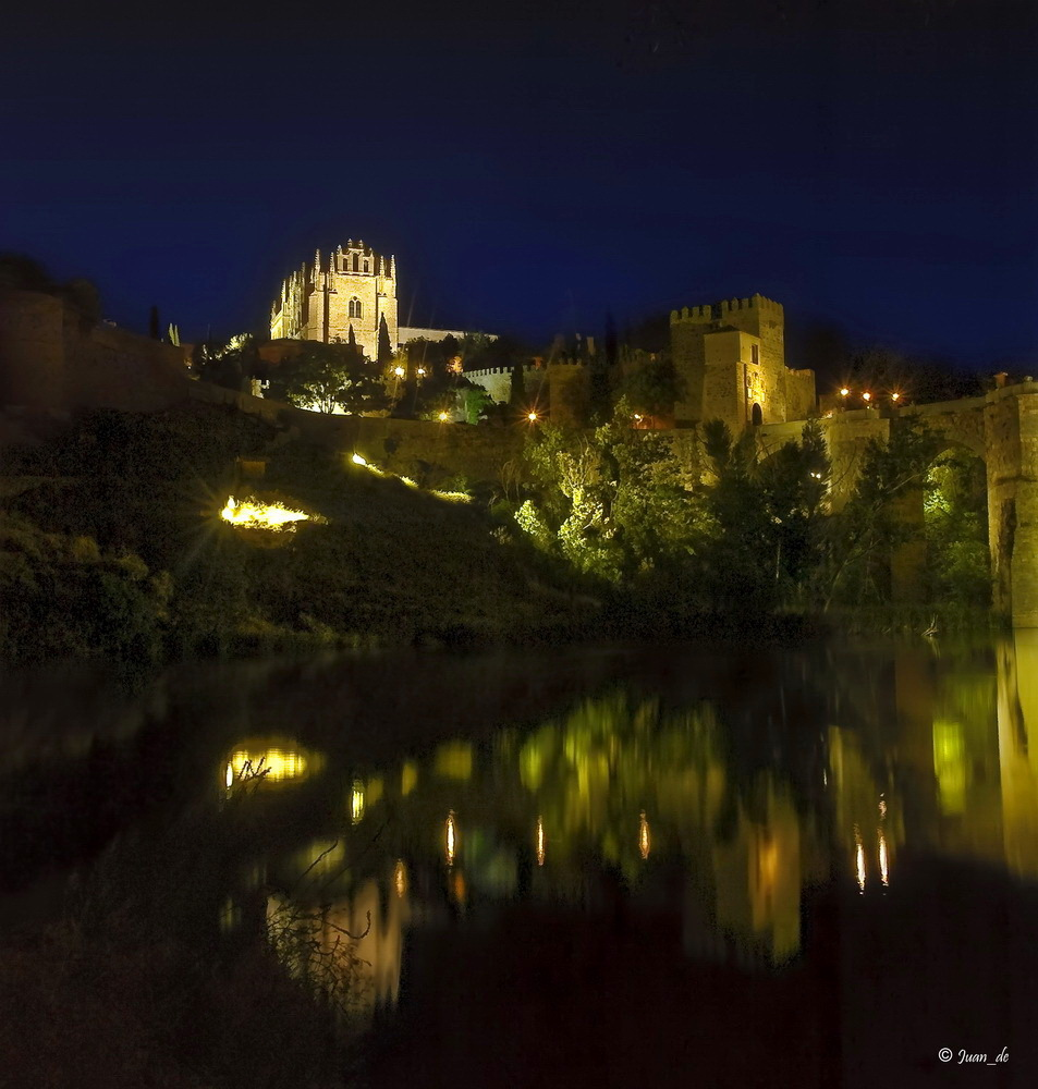 Toledo's night