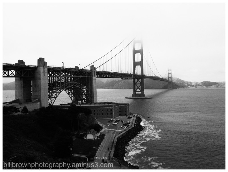 Golden Gate and Fog - 1 of 3