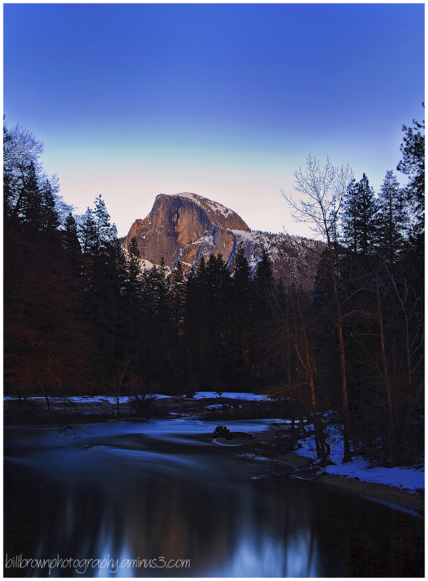 Half Dome with Reflection