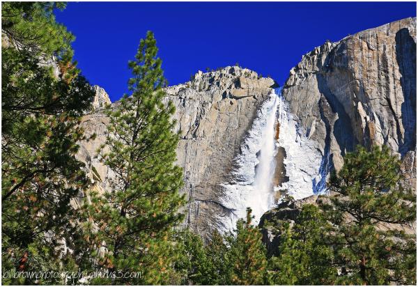 Upper Yosemite Falls - Winter