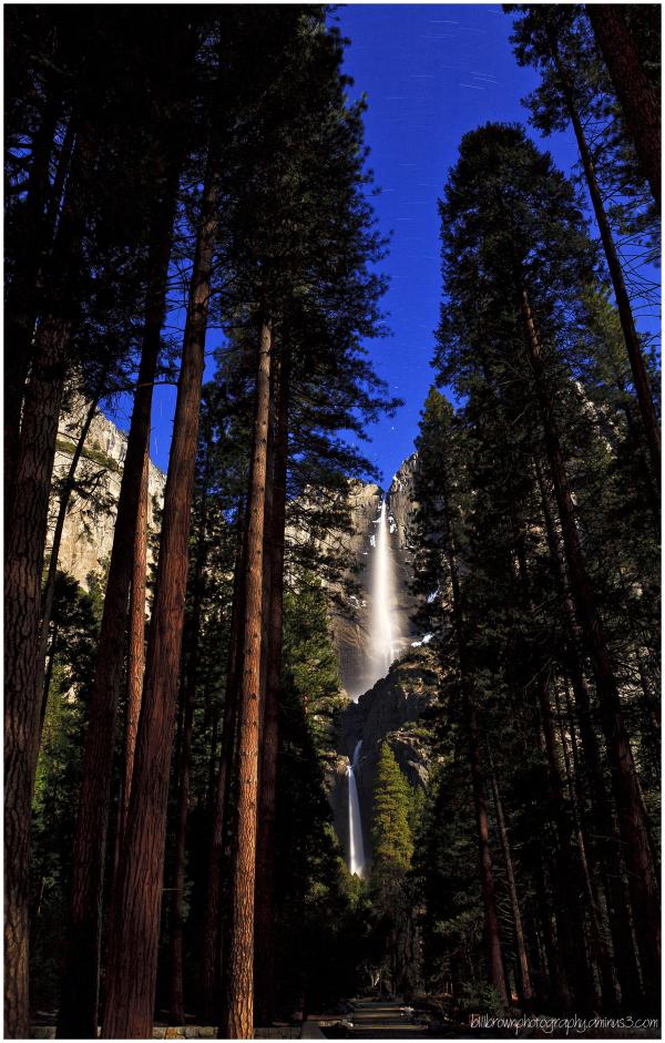 Yosemite Falls Under the Stars