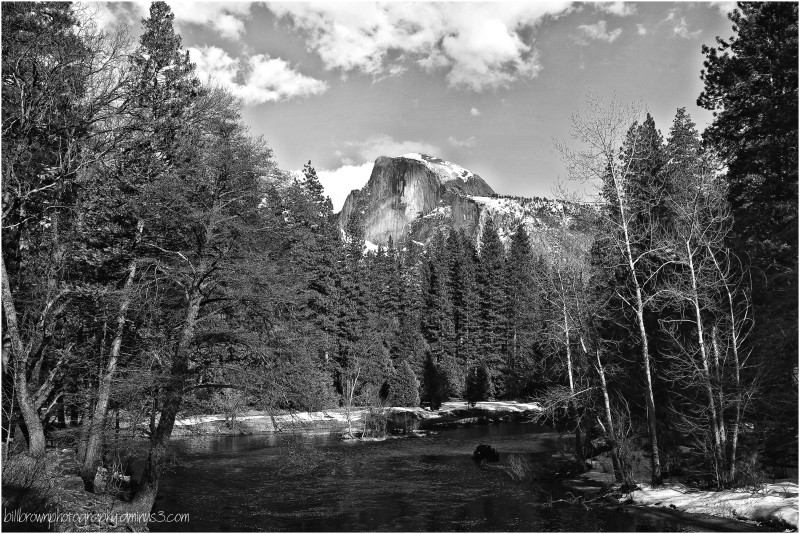 Half Dome - Yosemite Nat'l Park