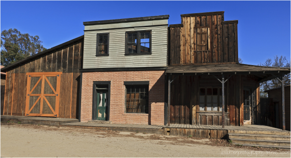 Western Town Buildings, Paramount Ranch