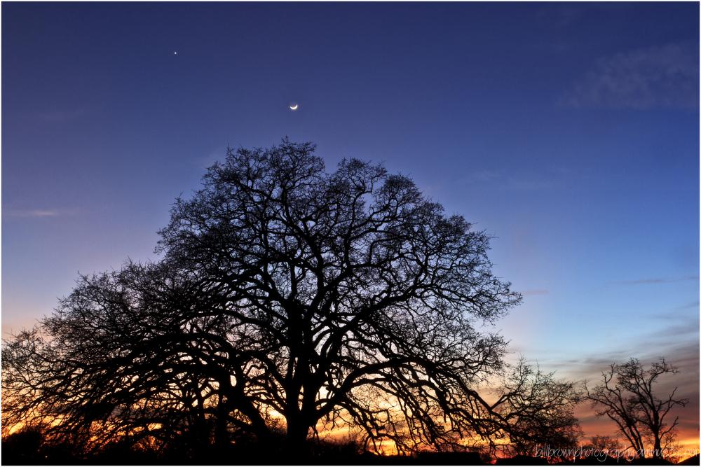 Folsom Sunset 01252012