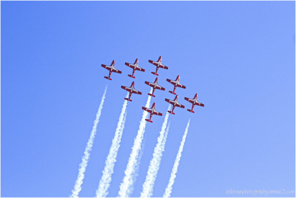 Snowbirds - Capital Air Show, No. 7