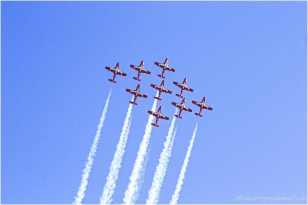 Snowbirds - Capital Air Show, No. 7