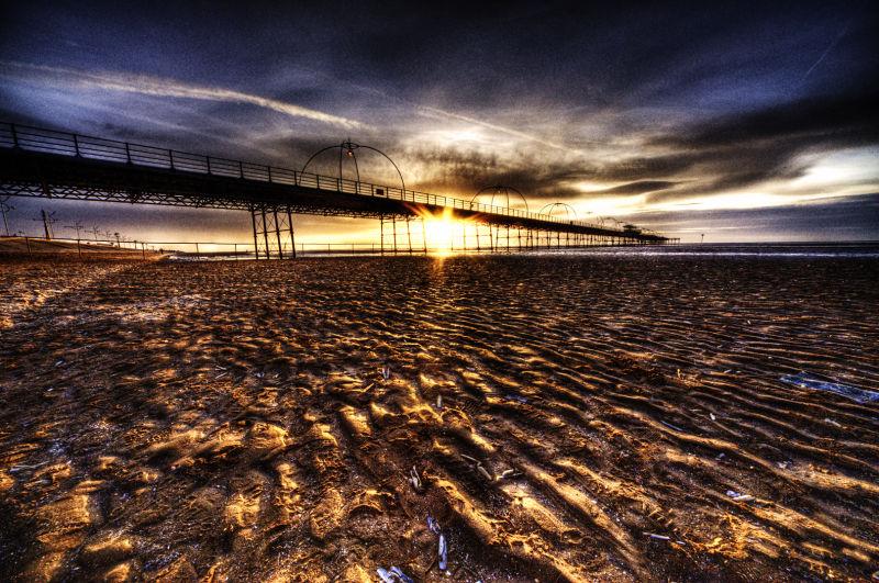 Southport Pier @ Sunset