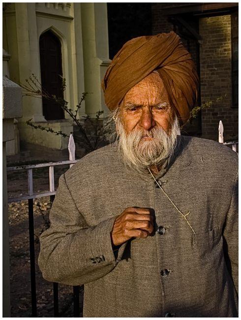 An Old mand at Ridge