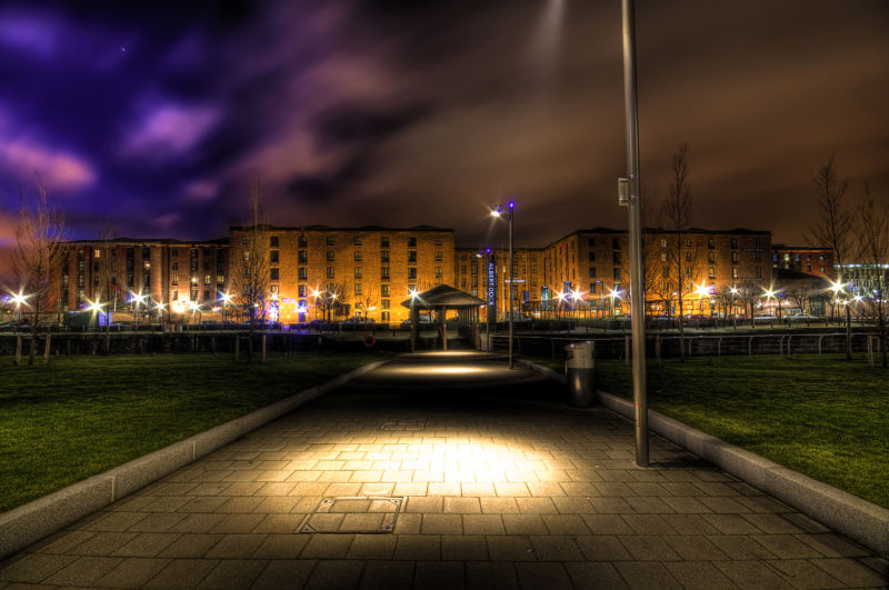 Albert Dock at Night