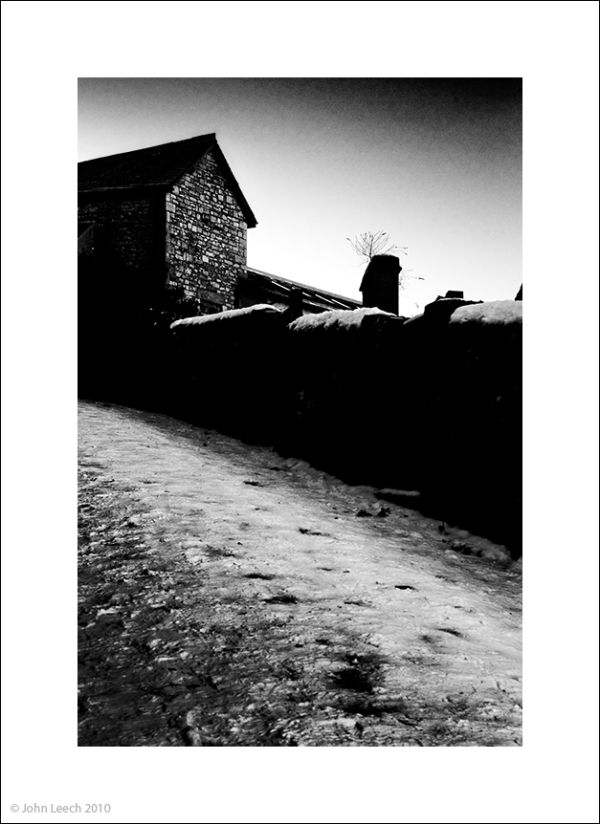 brandt snicket grange over sands black white photo