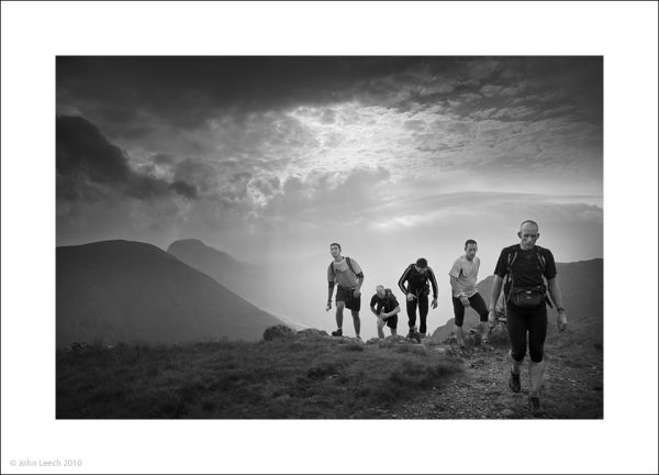 red pike great gable black white john leech photo