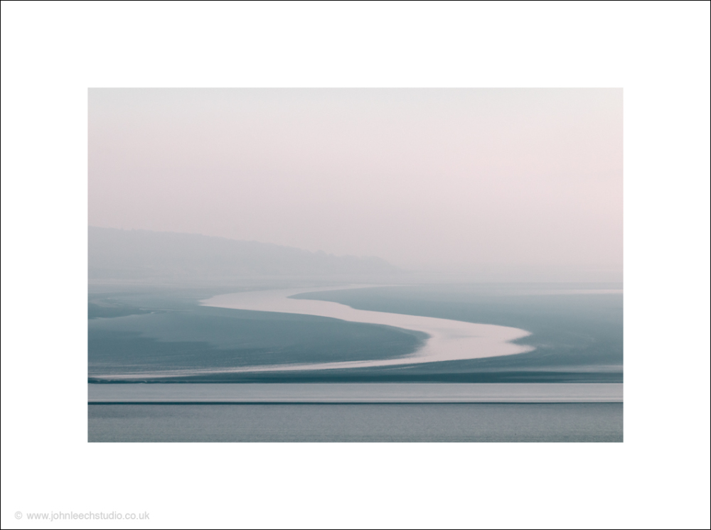 Pastel shades across Morecambe Bay