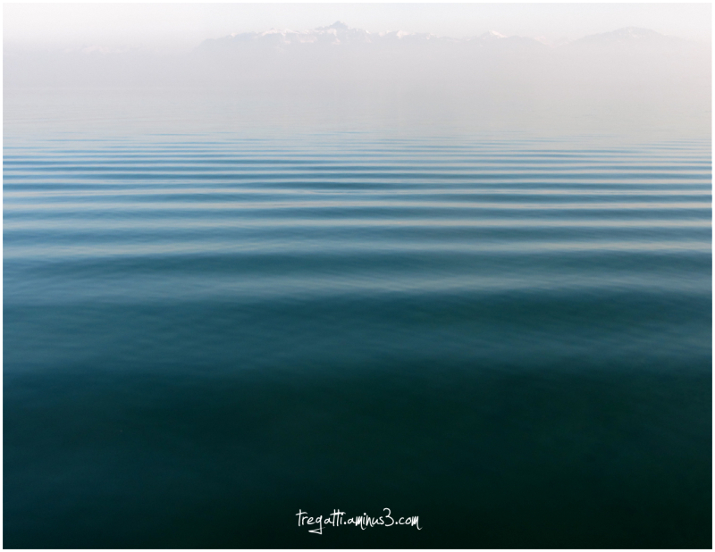lake, mountain