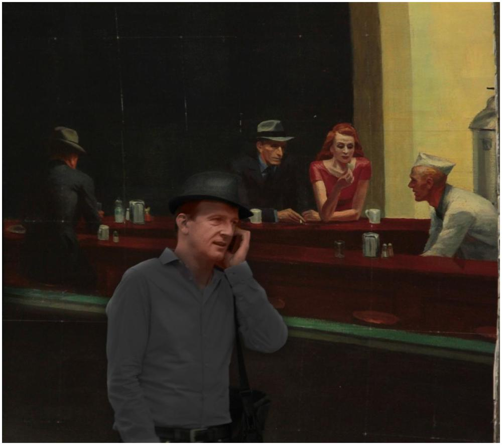 En attendant Hopper