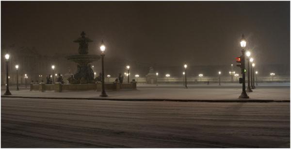 concorde neige solitude