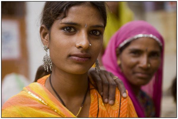 India portrait