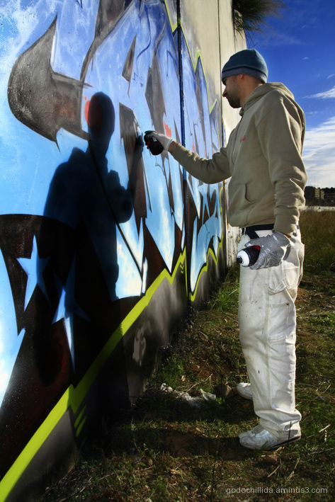 Graffiti writer
