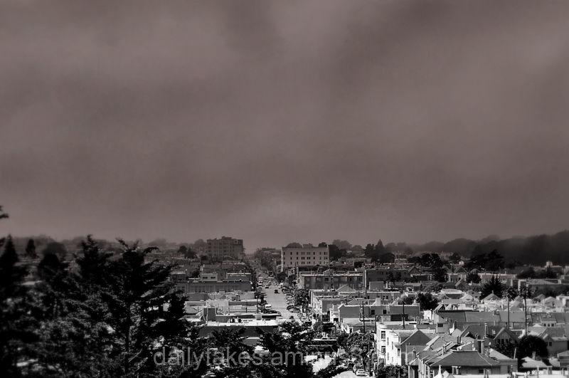 city waking up ....