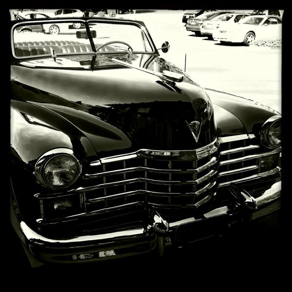 1941 cadillac convertible  . . .