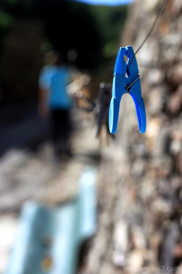 Suivre le fil bleu