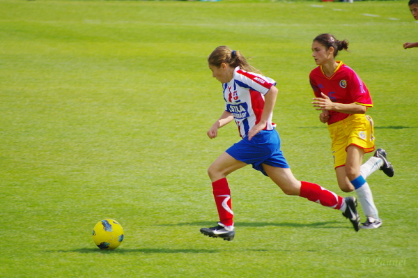 Girls and ball