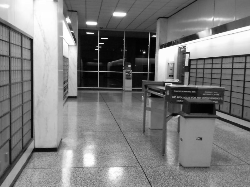 USPS Main Station at Midnight