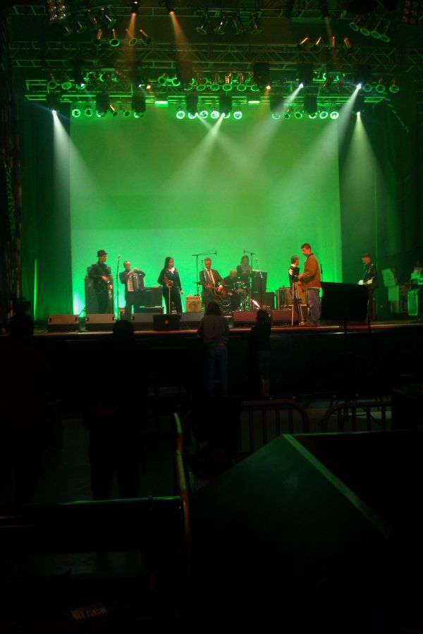 Flogging Molly video shoot