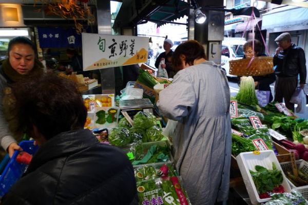 年の瀬;錦市場 busy market #1