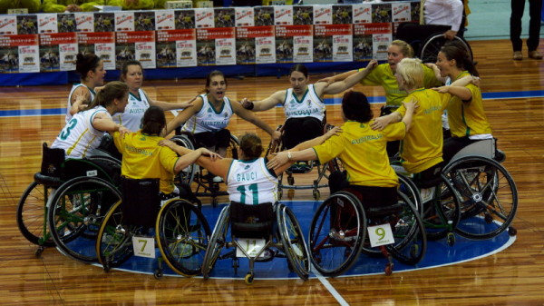Wheelchair Athletes #8  Congratulations Australia