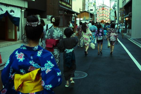 Festive atmosphere 祇園祭 #3