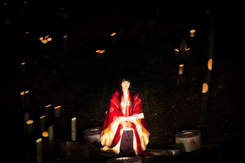 Bamboo light night #3