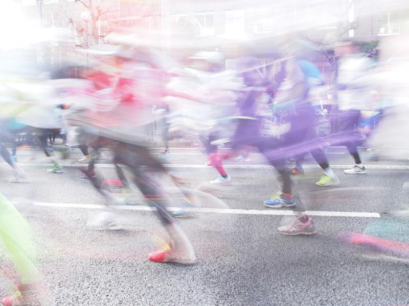 Running like wind