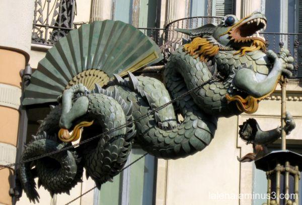 El dragó de les Rambles