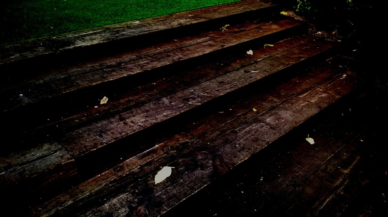 Esglaons de fusta