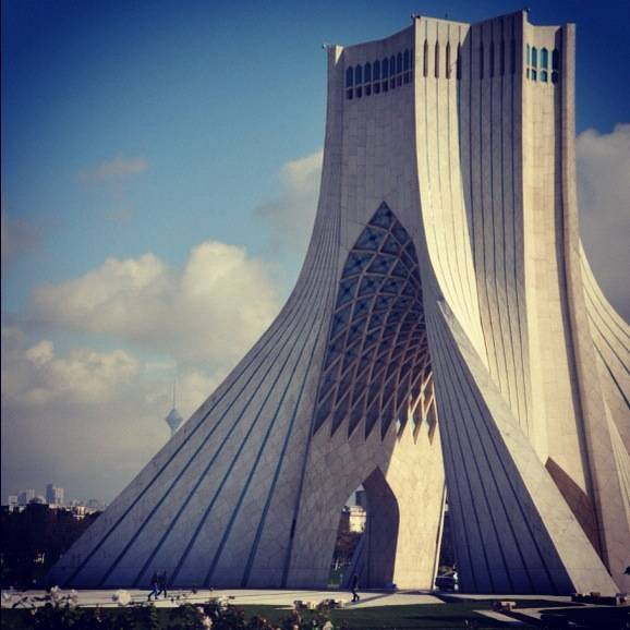 Tehran, the old & the new!