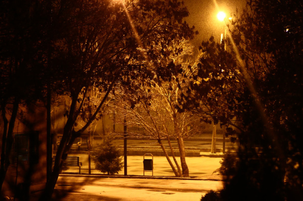 یک شب برفی دیگر