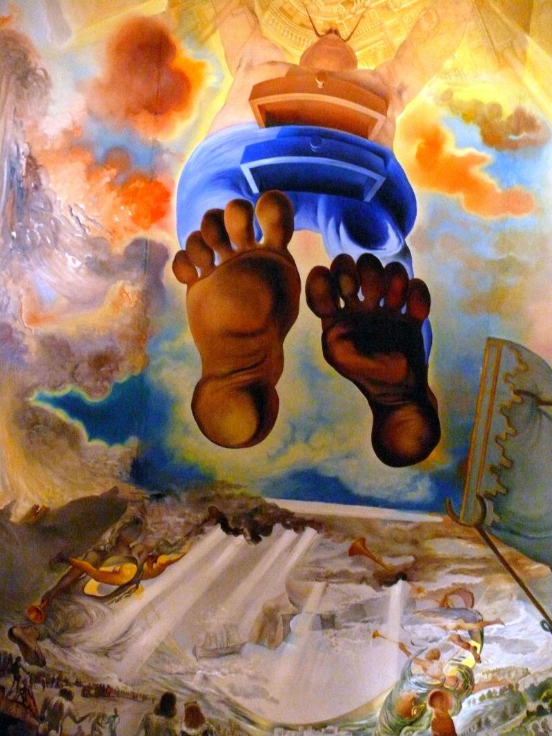 Toujours plus haut: le monde selon Dali.