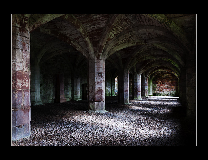 Lanercost Priory Undercroft