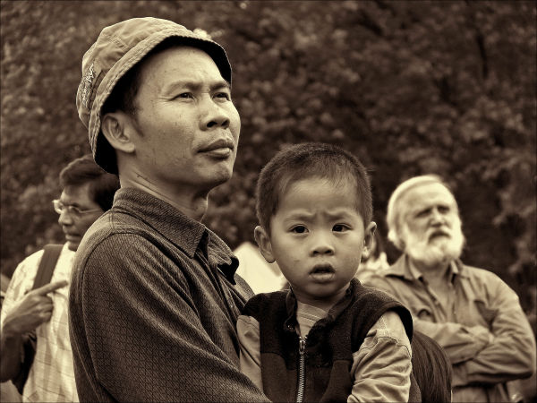 Vietnamese Father & Son