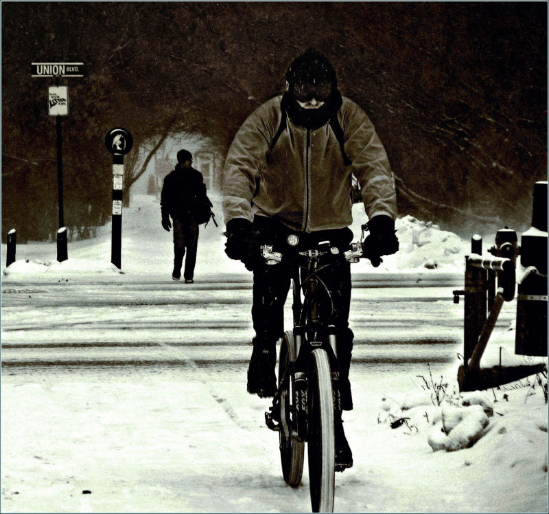 snow-biker, how it feels ?