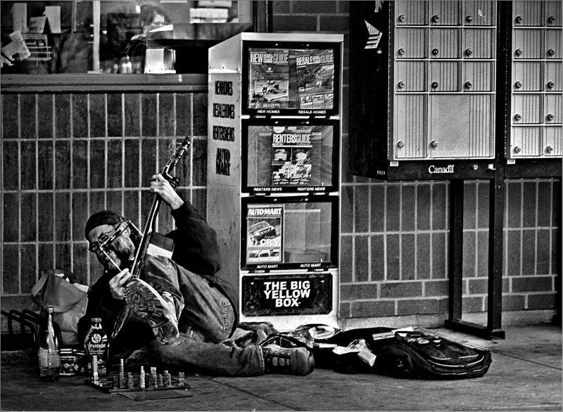 A Homeless Artist