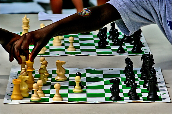 White and Black in Chess