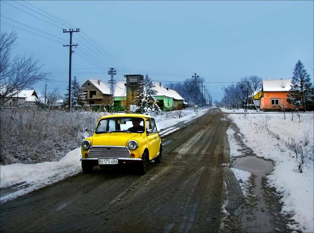 Yellow Morris Mini