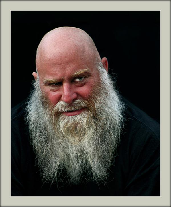 bold man with long beard