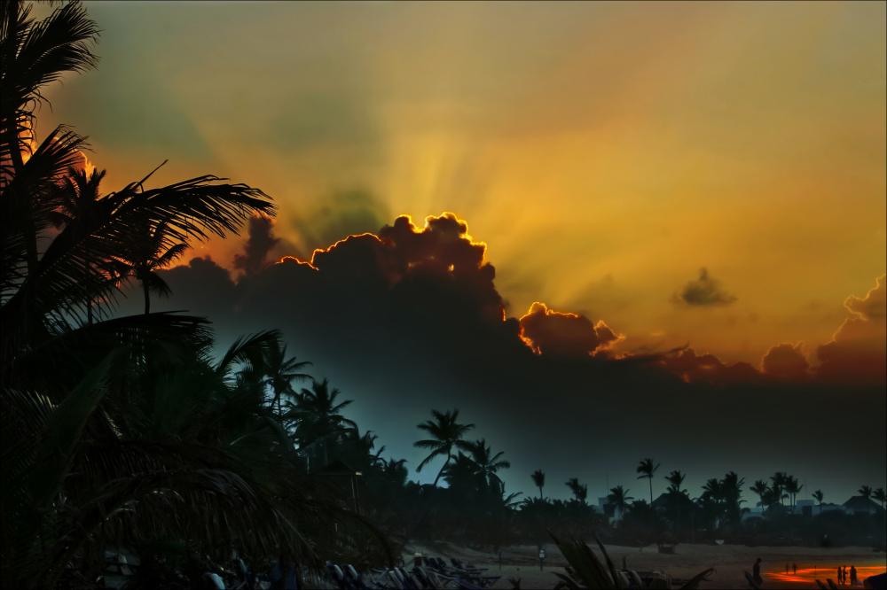 puntacana sunset