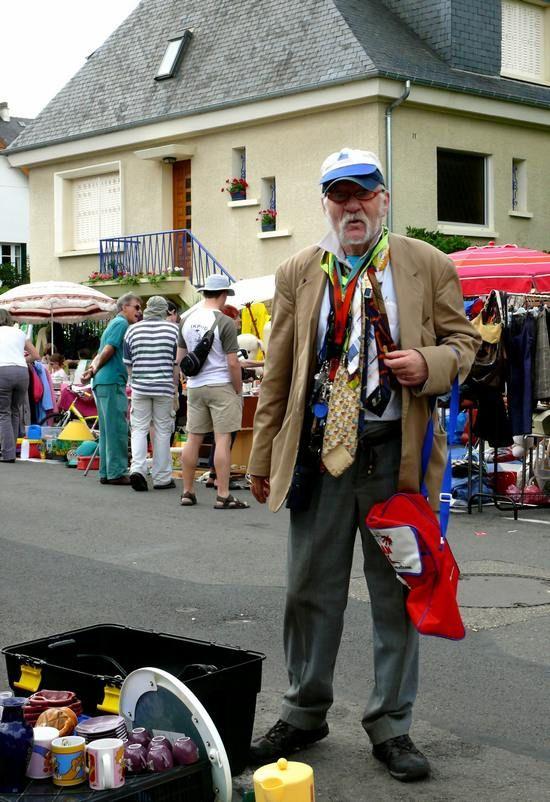 Le collectionneur de cravates